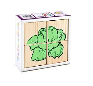 Кубики Томик Овощи