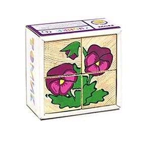 Кубики Томик Цветы