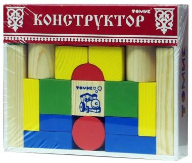Деревянный конструктор Томик 26
