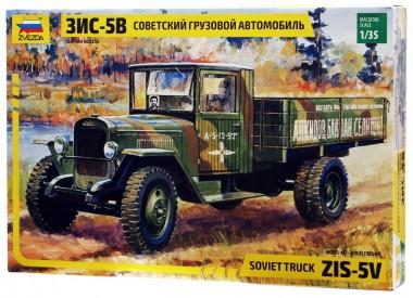 Советский грузовой автомобиль ЗИС-5В 1:35