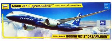 Боинг-787-8 Дримлайнер 1:144 арт.7008