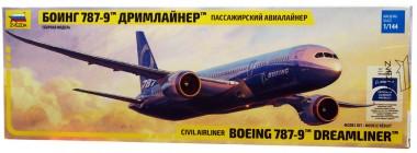 Боинг 787-9 Дримлайнер 1:144