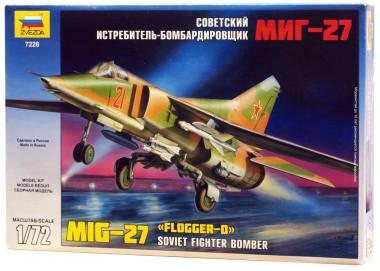 истребитель-бомбардировщик МиГ-27 1:72