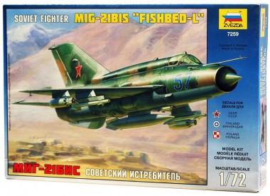 истребитель МиГ-21 БИС 1:72
