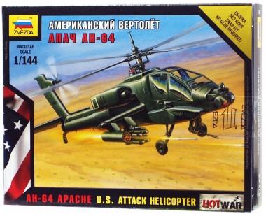 вертолет Апач АН-64 арт.7408