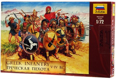 Греческая пехота 1:72