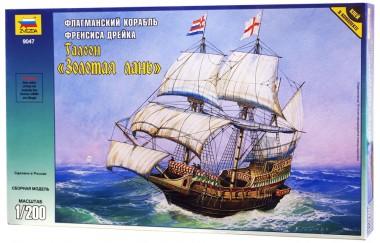 Корабль Френсиса Дрейка Золотая лань
