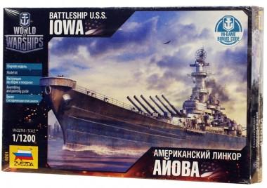 Американский линкор Айова 1:1200