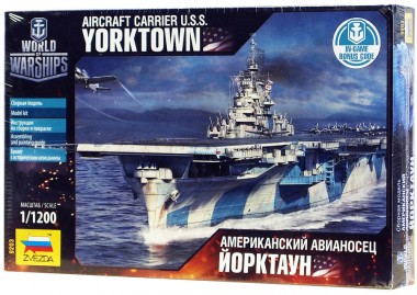 модель Авианосец Йорктаун арт.9203