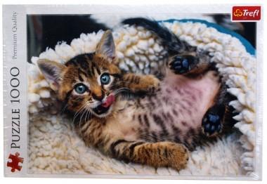 Пазл Веселый котенок Trefl 1000 элементов