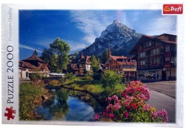 пазл Альпы летом