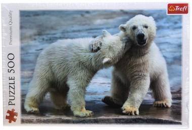 Пазл Белые медведи Trefl 500