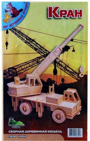 деревянная модель Кран П028