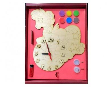 Часы Пони с красками
