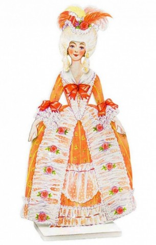 Наряжай и играй кукла Барышня