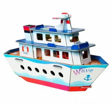 Кораблик Умная Бумага