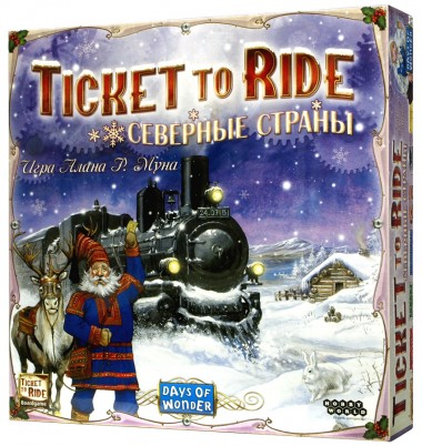 игра Билет на поезд: Северные страны