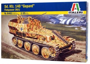 Сборная модель танк гепард