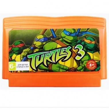 Картридж Turtles 3 денди