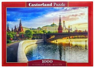 Пазл 1000 C-103348 Набережная.Москва