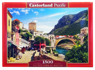 Castorland Пазл 1500 арт.C-151387 Старый город Мостар