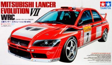 Tamiya Mitsubishi Lancer Evo VII WRC 1:24 арт.24257