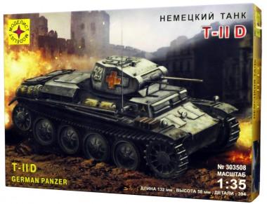 сборная модель танк Т II D арт.303508