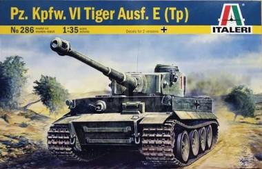 сборная модель TIGER I  AUSF. E/H1 (1:35) арт.0286