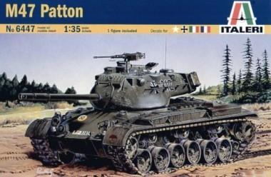 6447 сборная модель танк M47 ПАТТОН (1:35)