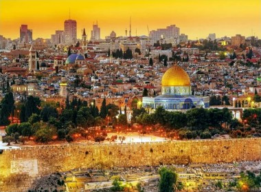 Trefl Пазл 3000 арт.33032 Крыши Иерусалима