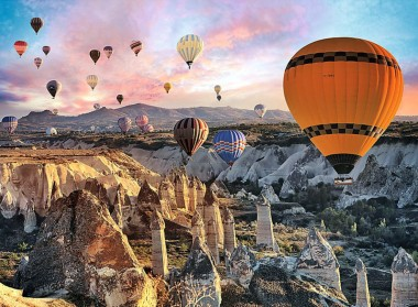 Trefl. Пазл 3000 Воздушные шары над Каппадокией арт.33059