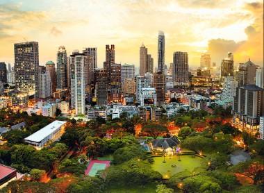 Trefl. Пазл 3000 арт.33060 Закат в Бангкоке