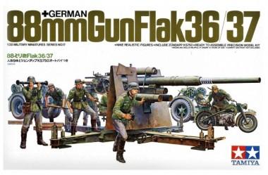 1/35 88мм пушка Gun Flak 36/37