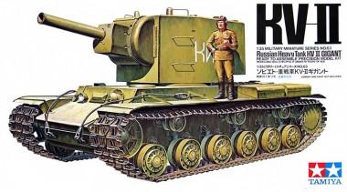 сборная модель советский танк КВ-2 тамия