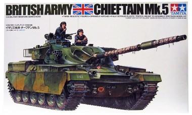 сборная модель 1:35 танк CHIEFTAIN Mk.5