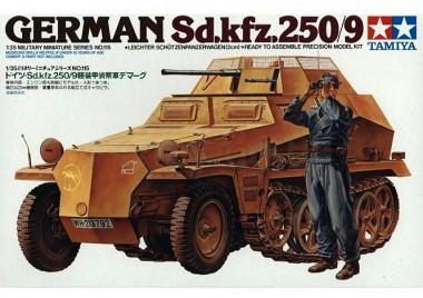 Немецкий полугусеничный БТР Sd.kfz.250/9 1:35