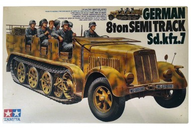 сборная модель немецкий Semi-TrackSdKfz7