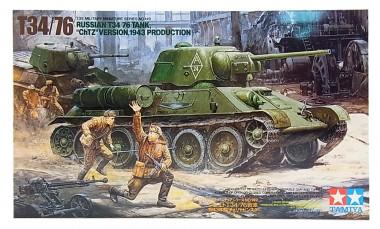 сборная модель танка Т34/76 арт.35149