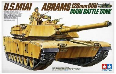 сборная модель Танк M1A1 Abrams тамия