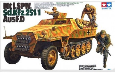 сборная модель Mtl. SPW Sd.Kfz.251/1 Ausf.D арт.35195
