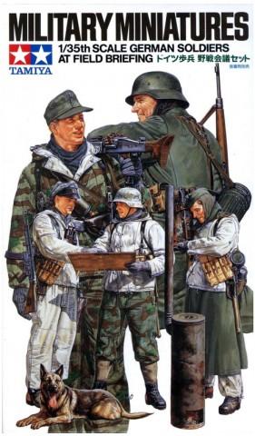 Немецкие солдаты 5ф. зимой арт.35212