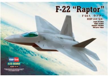 сборная модель самолет F-22 Raptor Hobbyboss 1:72