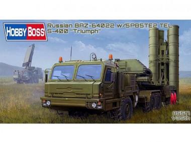 сборная модель ЗРК С-400 1:35