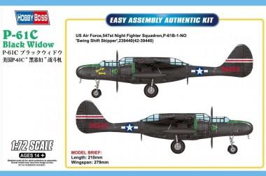 Сборная модель P-61C Черная вдова