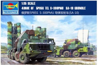 сборная модель ЗРК С-300 ПМУ Фаворит 1:35