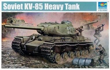 Танк КВ-85 1:35