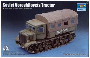 сборная модель Трактор Ворошиловец 1:72