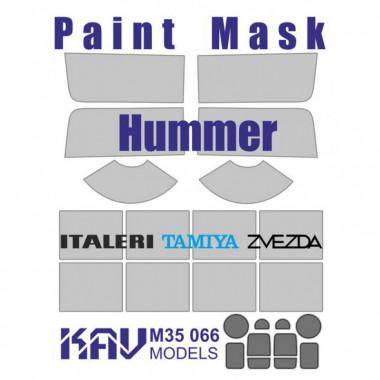 KAV M35 066 Окрасочная маска на Hummer (Italeri, Tamiya, Звезда)