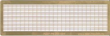 KAV PE200 001 Леерное ограждение (4 нити)