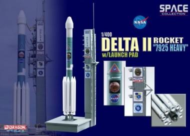 Масштабная модель космический аппарат Delta II Rocket 7925 Heavy